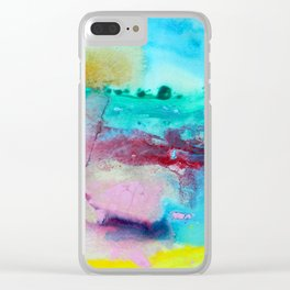 Watchful Clear iPhone Case