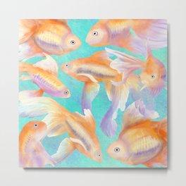Lots of Goldfish Metal Print