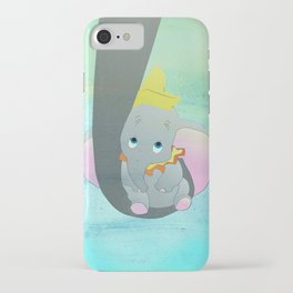 dumbo and his mom iPhone Case