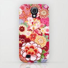 Red Floral Burst iPhone Case