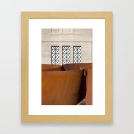 Sequence Framed Art Print