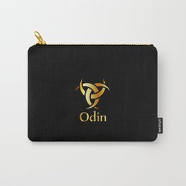Odin- The graphic is a symbol of the horns of Odin, a satanist symbol Carry-All Pouch