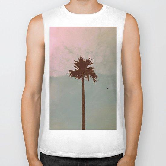 Palm Tree (vintage) Biker Tank