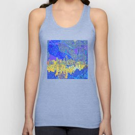 seattle city skyline Unisex Tank Top