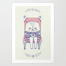 my favourite chair Art Print