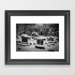 Mausoleum Framed Art Print