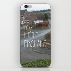 Merry Little England iPhone & iPod Skin