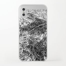 Straw ashes ~hai~ Clear iPhone Case