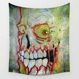 the SKULL Wall Tapestry