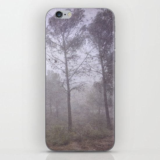Secret of the misty forest iPhone & iPod Skin