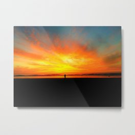 Expansive Sunset by Reay of Light Metal Print
