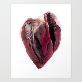 "I ""Heart"" You Art Print"