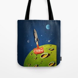 The World Of Outer Space Travel Tote Bag