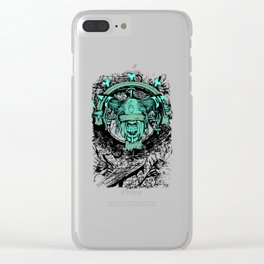 Horror Demon Scary Occult Monster Gothic Gift Clear iPhone Case