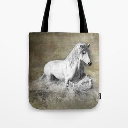 Jump The Wave Tote Bag