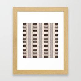Flat Weavin 4 Framed Art Print