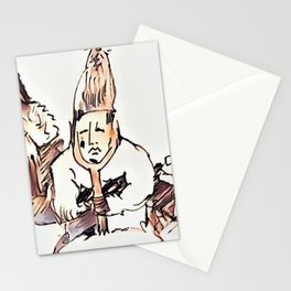 Los Caprichos ~ 24 ~ No Help Stationery Cards