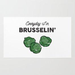 Everyday I'm Brusselin' Rug