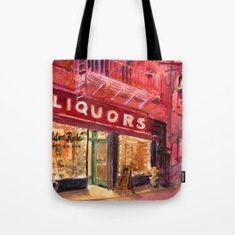 Golden Rule Wine and Liquors Tote Bag