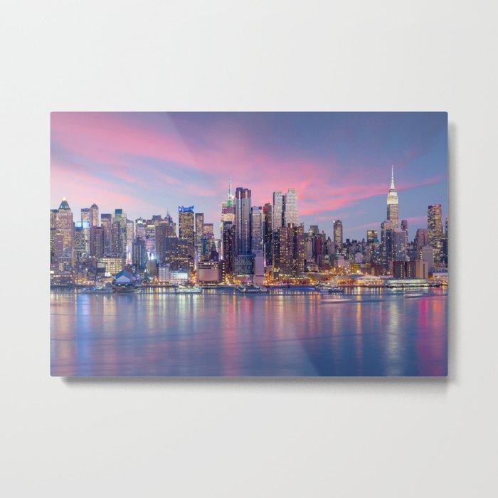 New York 01 - USA Metal Print