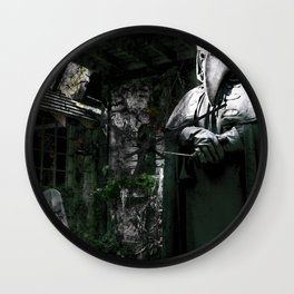 The Plague Doctor Wall Clock