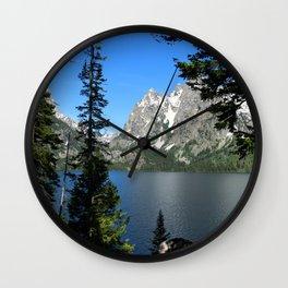 Jenny Lake Serenity Wall Clock