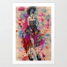 Punkd Art Print
