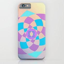 Mandal color wheel iPhone Case