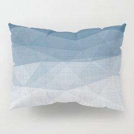 Imperial Topaz - Geometric Triangles Minimalism Pillow Sham