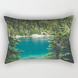 Garibaldi Lake Rectangular Pillow