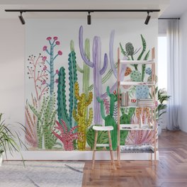 Succulent Happy Garden Wall Mural