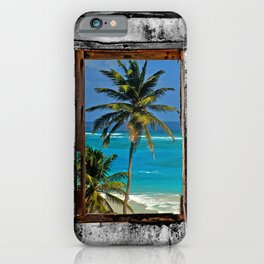 WINDOW ON PARADISE iPhone Case