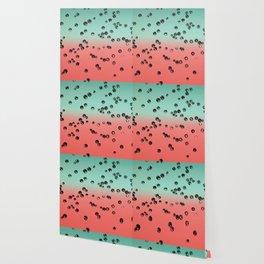 Summer Vibes Crystal Stones #1 #coral #mint #decor #art #society6 Wallpaper