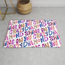 Shine On Your Crazy Diamond – Vintage Palette Rug