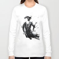 coco Long Sleeve T-shirts featuring Coco by Sasha Spring Illustration