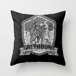 Greyhound, Greyhound greyhounds, Greyhound galgo Throw Pillow