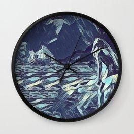 Isla de la Luna Wall Clock