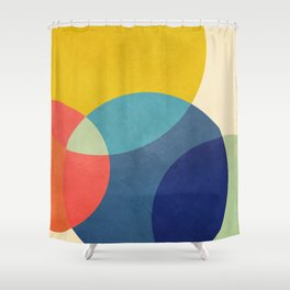 Flow of Geometry 2 Shower Curtain