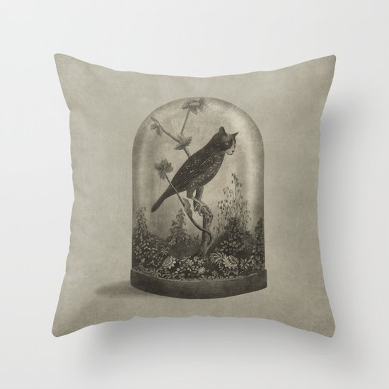 The Curiosity  Throw Pillow