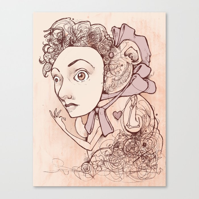 Unnaturally Adorable Canvas Print