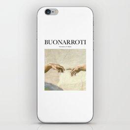 Buonarroti - Creation of Adam iPhone Skin