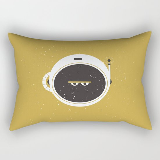 The Spaceman on the Sun Rectangular Pillow