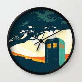Tardis Travel Wall Clock