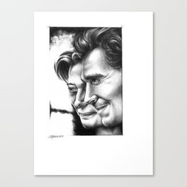 Tom Hiddleston, Tilda Swinton Canvas Print