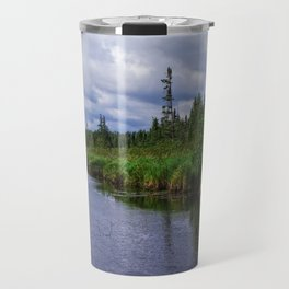 Boundary Waters Entry Point Little Indian Sioux River Bed Travel Mug