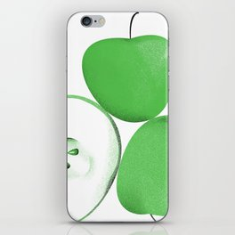 3 apples iPhone Skin