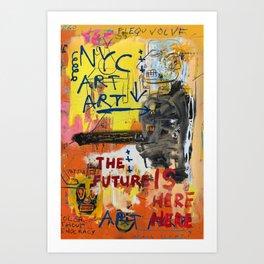 NYC Art Art Art Print