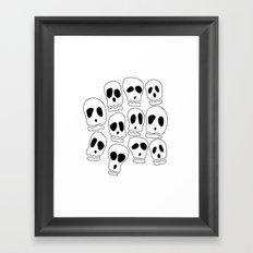 Skulls-1 Framed Art Print