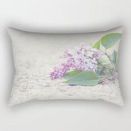 C'est le temps des lilas Rectangular Pillow
