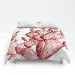 Pink Cacti Comforters